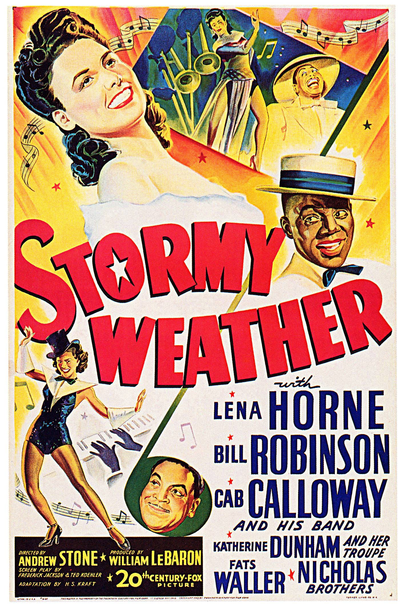 Poster Stormy Weather 01